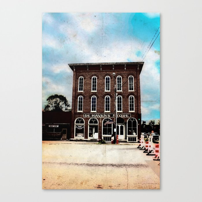 De Haven's Store Canvas Print