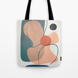Minimal Abstract Shapes No.44 Tote Bag
