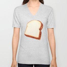 Peanut Butter & Jelly Sandwich Pattern Unisex V-Neck