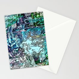 Abstract 156 Stationery Cards