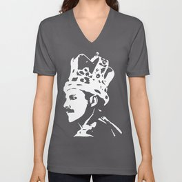 Freddy the White Queen Unisex V-Neck