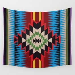 American Native Pattern No. 96 Wall Tapestry