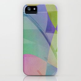 Multicolored abstract no. 68 iPhone Case