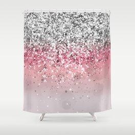 Spark Variations VII Shower Curtain