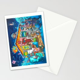 Pee-wee's Christmas Nativity  Stationery Cards