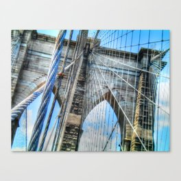 Brooklyn Bridge - NYC Canvas Print