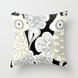 double-agent Throw Pillow