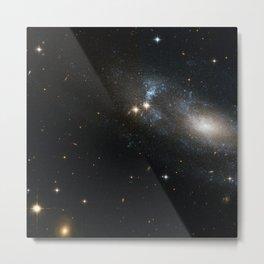 Spiral Galaxy ESO 499-G37 Metal Print