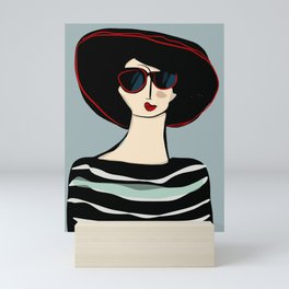 Mademoiselle Mini Art Print