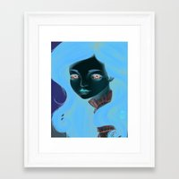 doll Framed Art Prints featuring Doll by Lily Art