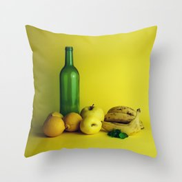 Lemon lime - still life Throw Pillow
