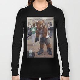 Bodybuilder Teddy Long Sleeve T-shirt
