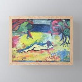 Looking Towards Claytor Lake Framed Mini Art Print