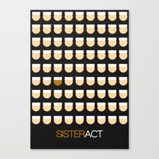 Sister Act Canvas Print