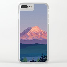Solitude Clear iPhone Case