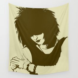 Tribute to Siouxsie Sioux Wall Tapestry