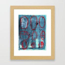 Crosshair Framed Art Print