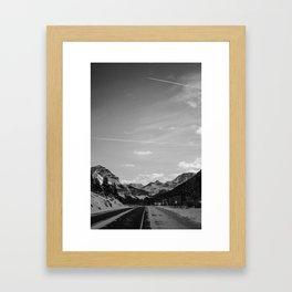 Moutain Drive Framed Art Print