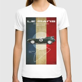 Le Mans Vintage D-Type T-shirt
