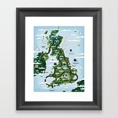 Good Toys UK Framed Art Print