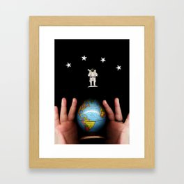 All of Earth and Space Framed Art Print