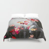 rush Duvet Covers featuring Rush by Stasia B