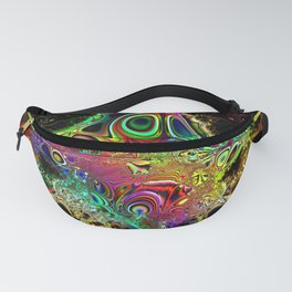 Color Explosion Psychedelic Abstract Art Pattern Fanny Pack