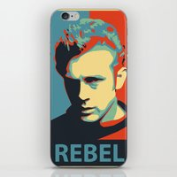 rebel iPhone & iPod Skins featuring Rebel by Sparks68