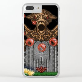 Contras Clear iPhone Case