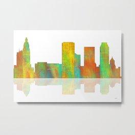 Tulsa Skyline Metal Print
