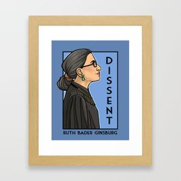 Dissent Framed Art Print