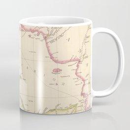 Vintage Map of Lake Superior (1832) Coffee Mug