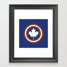 Captain Canada Framed Art Print