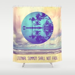Eternal Summer -Beach- Shower Curtain