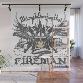 Welcome to Scorching Heat Wall Mural