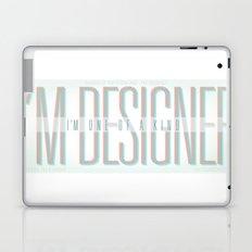 I'm Designer Laptop & iPad Skin