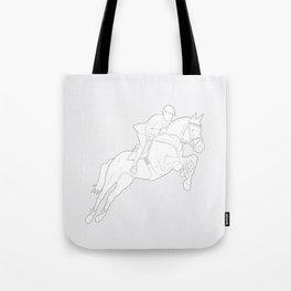 Showjumper in Grey Tote Bag