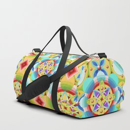 Cosmic Celtic Ombre Duffle Bag