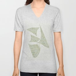 """ SPLATS - W "" Unisex V-Neck"