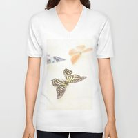 butterflies V-neck T-shirts featuring Butterflies  by Pure Nature Photos