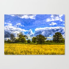 The Arrival Of Summer Art Canvas Print