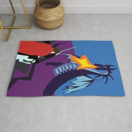 Fight The Dragon Rug