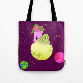 Bubbles in Space Tote Bag