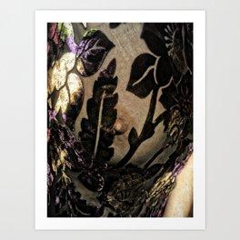 Magdalena Monroe as Gloria Swanson Art Print