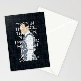 The Final Problem - Mycroft Holmes Stationery Cards