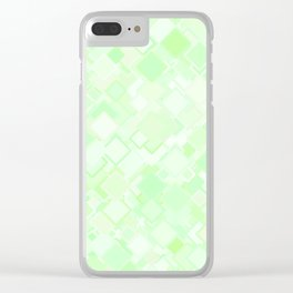 Ice with a Touch of Lime Clear iPhone Case