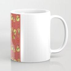 Two Chicks Pattern ~ Red Coffee Mug