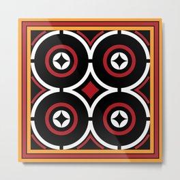 Toraja Pattern ne'limbongan Metal Print