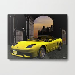 Acura NSX Metal Print