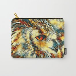 AnimalArt_Owl_20170917_by_JAMColorsSpecial Carry-All Pouch